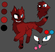 Ikale Ref by foxlover2222