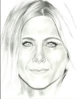 Jennifer Aniston by MikeTribbianni
