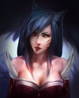 Ahri by Lnterrupted