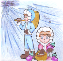 Ice climbers by Manolink