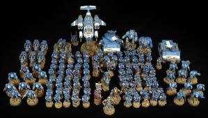 [Wh40k] Full Army Display 12th April 2015 by Mineraleater