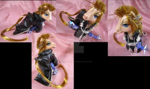 KH2 Demyx commission by LightningSilver-Mana