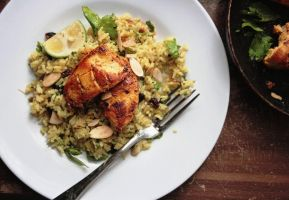 Mustard-Lime Chicken Pilaf by sasQuat-ch
