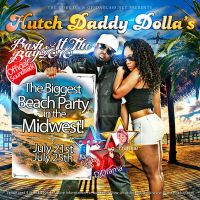 Hutch Daddy Dollas Cd Cover by LaxDesign