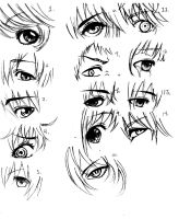 Anime Eyes by FunaTaizuki14