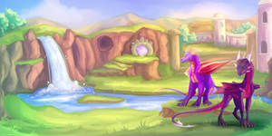 ~ Spyro ~ Way Back When by Lord-StarryFace