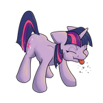 Twilight Acting Like A Brat by Geomancing