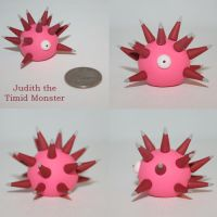 Judith the Timid Monster by TimidMonsters