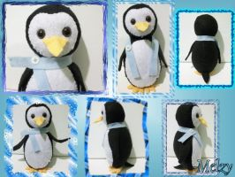 Penguin Plush by MelzyV