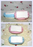Biscuit with Icing by kiwitee
