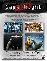 Final Game Night Flyer by Sh4d0w-W01f