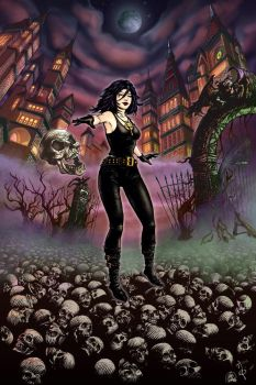 Death from Sandman - recolored by ParadoxDigital