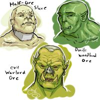 Orc Practice by SHARK-E