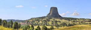Devil Tower Pano by vnt87