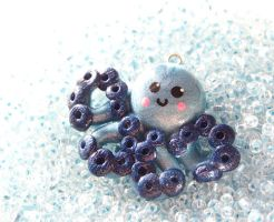 Blue Octo Pendant by Shelby-JoJewelry