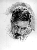 Tony Stark WiP by Red-Szajn