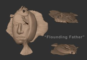 Speedsculpt 8 - Flounding Father by TiJiL