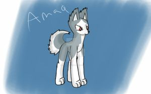 Amaq- Wild Huskies by DragonDragoo