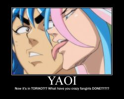 Toriko YAOI????? by DrinkTeaWithWolves