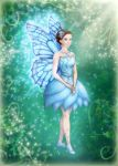 Galatea in the forest by Arrelline
