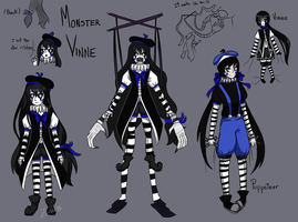 Monster Vinnie Concept  by JustALittleZombie