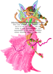 Commission: Flora's Harmonix Transformation by Galistar07water