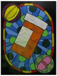 Refill Stain Glass by artjte
