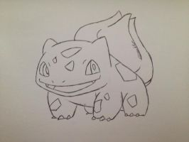 Bulbasaur by TallyCrusher