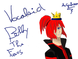 Vocaloid Bobby the Furios (for a friend ^_^) by Grifessa