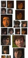 HTTYD faces reference by Tobiasfrost