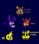 Five Nights At Freddy's fanart by GabeHash