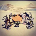 Tangled Crystal Ball T-Shirt by AngelAndChangeling