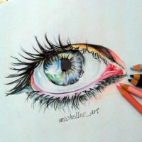 Eye Drawing! by MichelleCArt