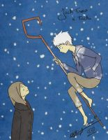 Snow Night - Jack Frost x Tachi by Nami-chwann