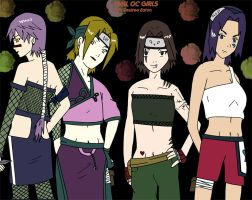 My naruto life oc girls by Desicat674