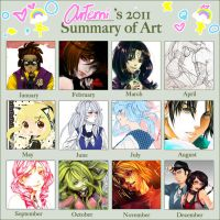 2011 Art summary by D-Artemisatto