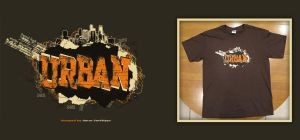 Urban T-Shirt Design by orangeillini14