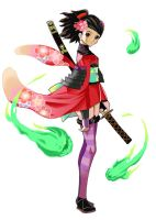Momohime Pose 2 by UnholyChaos