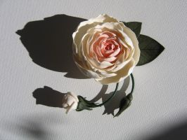 Rose Pin by Meeellla
