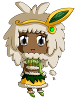 [K] Mini Chibi Pollen Princess by izka197