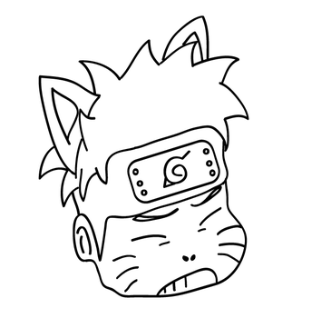 Kitty naruto by lolopo