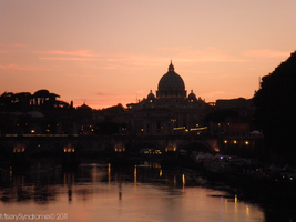 Sunset over Vatican II by MiserySyndromex3