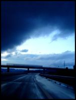 Highway after rain by niwaj