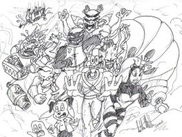 cast of earthworm jim by robot-man-7