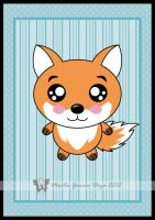Kawaii Fox by martagd