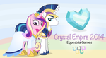 The Crystal Empire 2014 Equestria Games by dm29