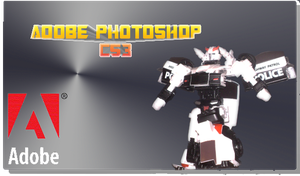 Prowl PS CS3 Splash Screen by LittleBigDave