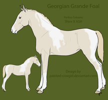 SOLD - Georgian Grande Foal 4 by painted-cowgirl