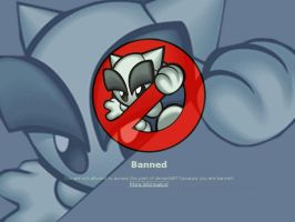 You Banned Wallpaper 3 by DKSTUDIOS05