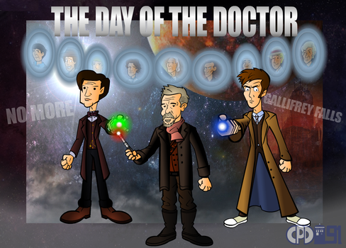The Day of the Doctor by CPD-91